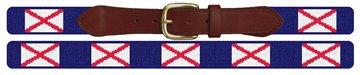 Alabama Flag Needlepoint Belt