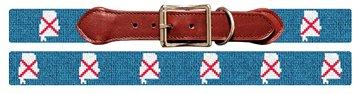 Alabama State Needlepoint Dog Collar