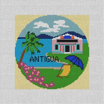 Antiqua Needlepoint Ornament Canvas