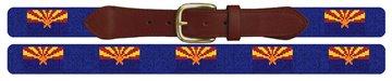 Arizona Flag Needlepoint Belt