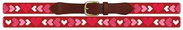 Be My Valentine Needlepoint Belt