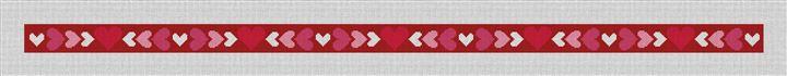 Be My Valentine Needlepoint Belt Canvas