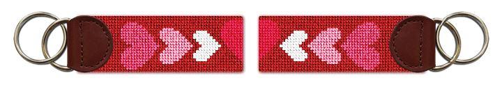 Be My Valentine Needlepoint Key Fob