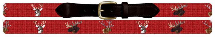 Big Game Needlepoint Belt