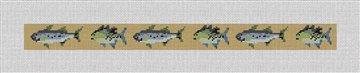 Bluegill Fish Belt Canvas