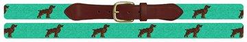 Boykin Spaniel Needlepoint Belt