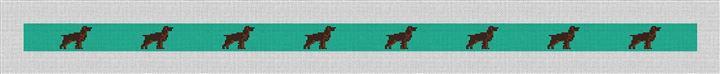 Boykin Spaniel Needlepoint Belt Canvas