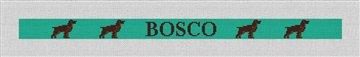 Boykin Spaniel Needlepoint Dog Collar Canvas