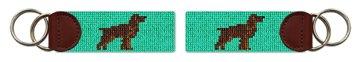 Boykin Spaniel Needlepoint Key Fob