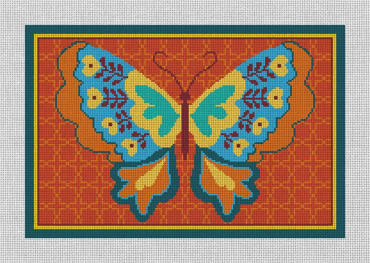 Butterfly Joy Needlepoint Canvas