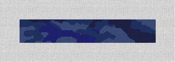 Camouflage Needlepoint Key Fob Canvas