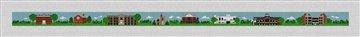Canton New York Landscape Needlepoint Belt Canvas