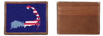 Cape Cod Needlepoint Card Wallet