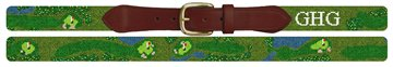 Champions Golf Club Needlepoint Belt