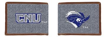 Christopher Newport University Needlepoint Wallet