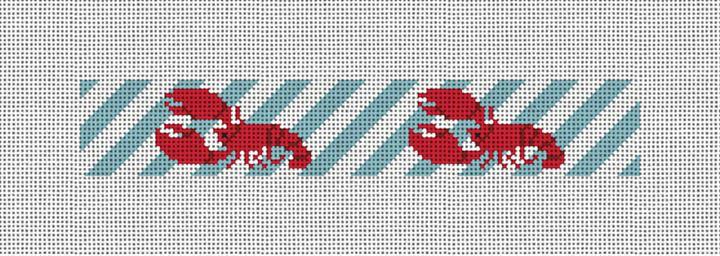 Classic Lobster Needlepoint Key Fob Canvas