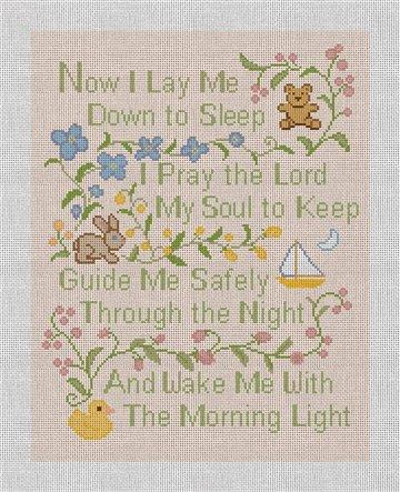 Classic Prayer Needlepoint Canvas