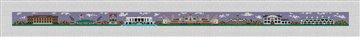 Clemson South Carolina Needlepoint Belt Canvas