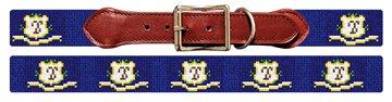 Connecticut Flag Needlepoint Dog Collar
