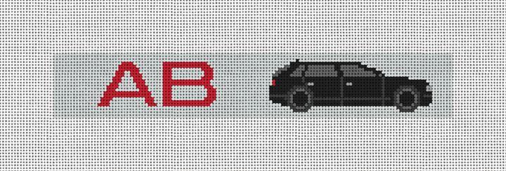 Custom Key Fob Needlepoint Canvas