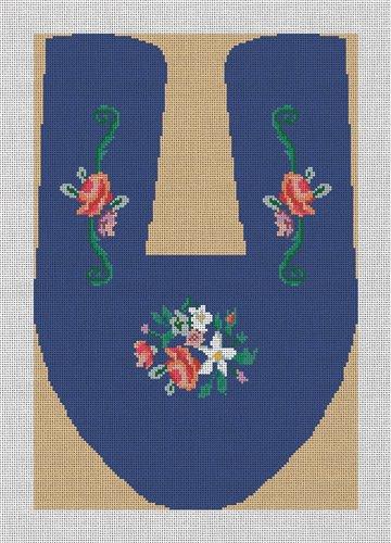 Custom Slipper Needlepoint Canvas