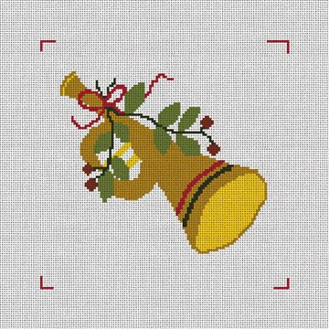 Eleven Pipers Piping Needlepoint Canvas