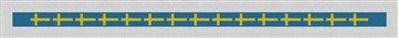 Flag of Sweden Needlepoint Belt Canvas