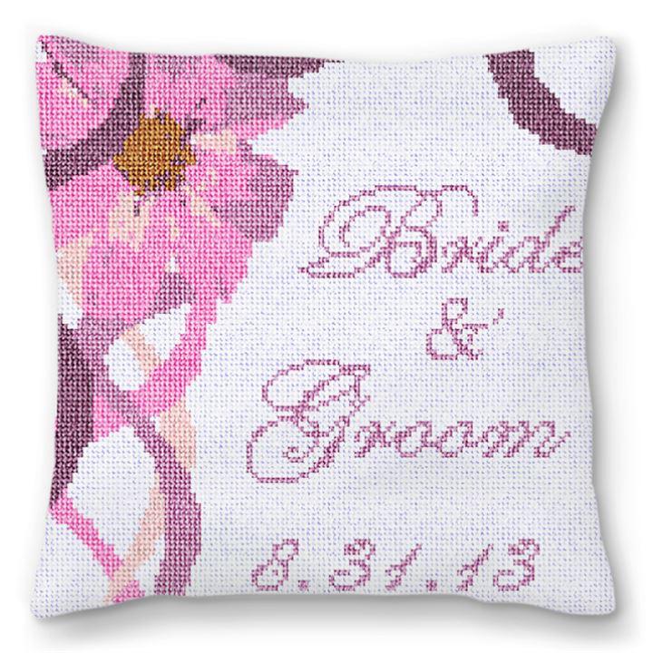 Florance Customized Ring Pillow