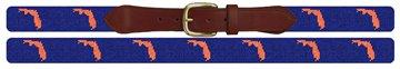 Florida State Needlepoint Belt