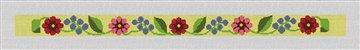 Fresh Floral Hatband Needlepoint Canvas