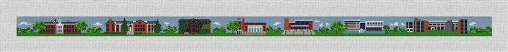 Glassboro New Jersey Needlepoint Belt Canvas