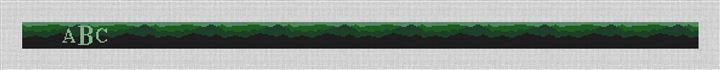 Green Mountain Belt Needlepoint Canvas
