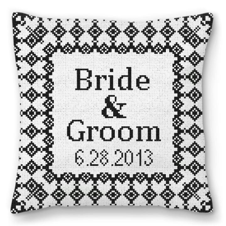 Grenelle Custom Ring Bearer Pillow