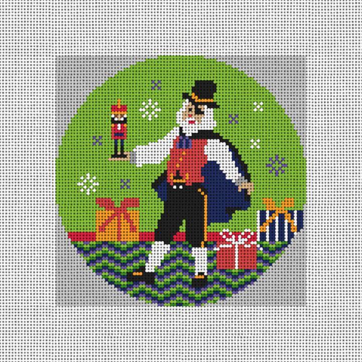 Herr Drosselmeyer Needlepoint Ornament Canvas