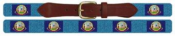 Idaho Flag Needlepoint Belt