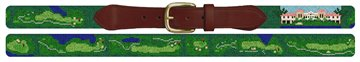 Imperial Golf Course Needlepoint Belt