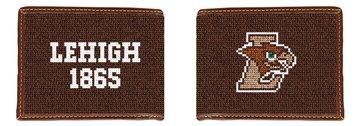 Lehigh University Hawk Needlepoint Wallet