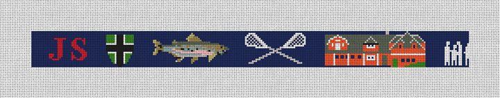 Life Treasures Personalized Needlepoint Belt