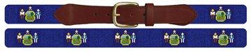 Maine Flag Needlepoint Belt