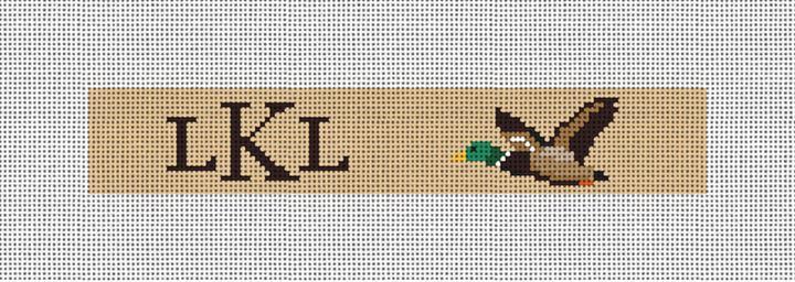 Mallard Needlepoint Key Fob Canvas