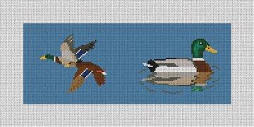 Mallard Needlepoint Wallet Canvas