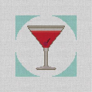 Manhattan Coaster Needlepoint Canvas