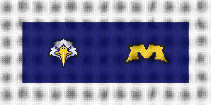 Morehead State Needlepoint Wallet Canvas