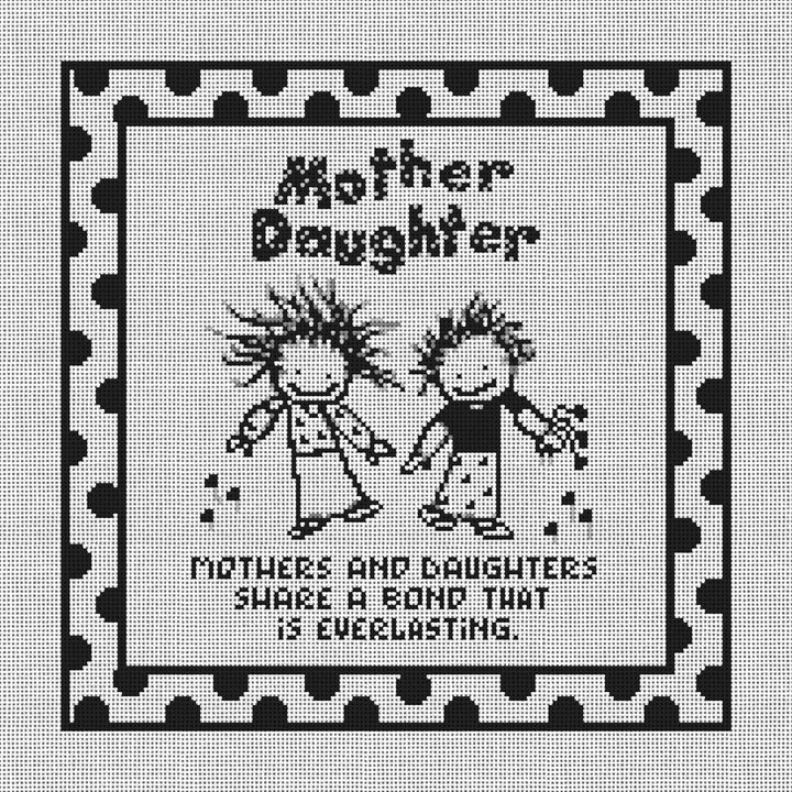Mothers and Daughters Canvas