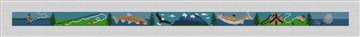 Mountain Stream Fly Fishing Belt Canvas