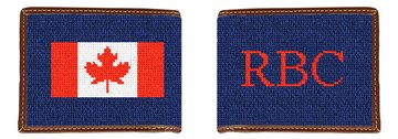 My Favorite Flag Needlepoint Wallet