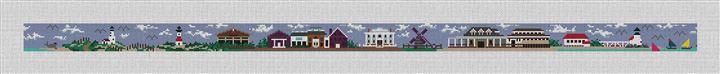 Nantucket Commemorative Needlepoint Canvas