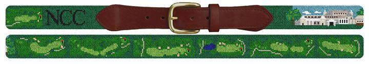 Navesink Golf Course Needlepoint Belt
