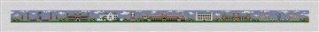 Norman Oklahoma Landscape Needlepoint Belt Canvas