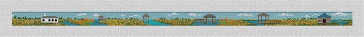 Pawleys Island Needlepoint Belt Canvas